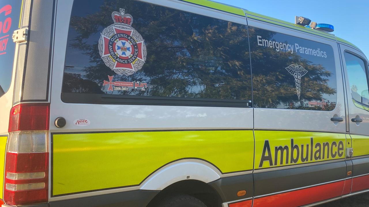 One person was taken to hospital after a crash at Nambour.