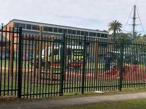 Ambulance on scene at a Ballina school