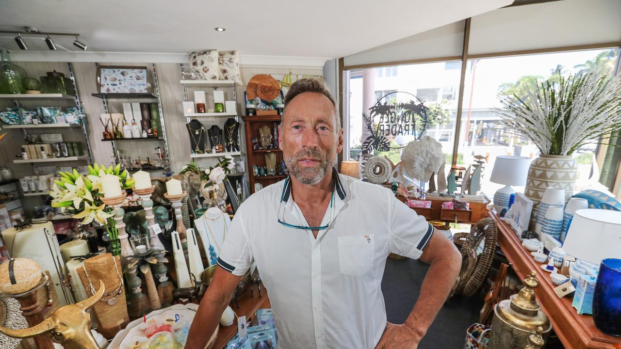 The Jungle Trader's Ivan Pratt. Picture: Nigel Hallett
