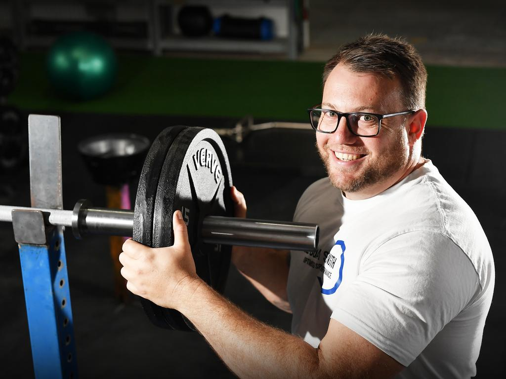 Grant Mealey is opening his own gym Sunshine Coast Strength, to help athletes at the grassroots level who want to take themselves to the next level. Photo Patrick Woods / Sunshine Coast Daily.