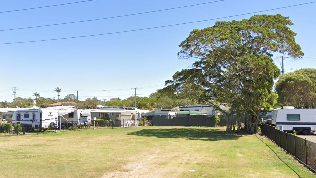Neighbours to the Military Jetty Caravan Park have made public submissions to the Sunshine Coast Council requesting the retention of the mature fig tree on the property of the proposed development. Picture: Google Maps