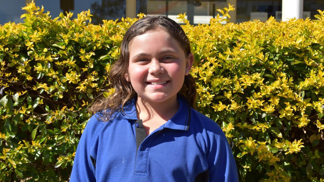 Eidsvold State School student Mia Blucher. Picture: Sam Turner