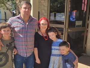 'Relief': Family returns home 1 year after devastating fire