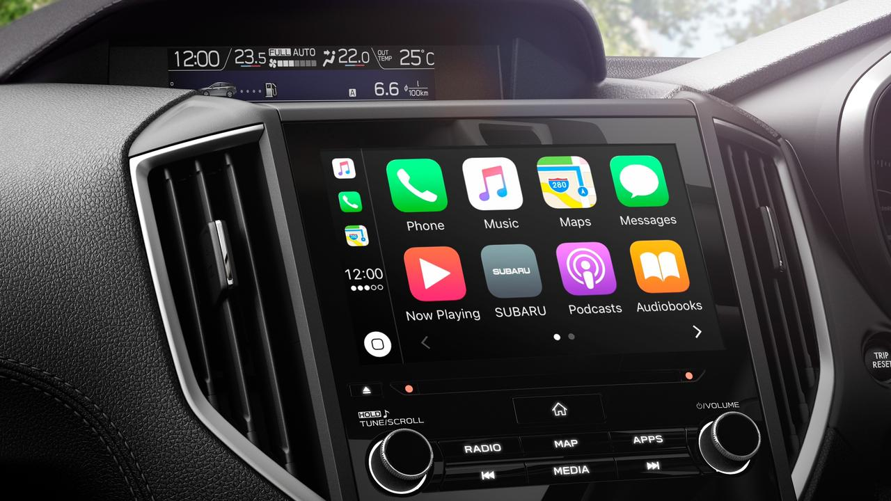 Apple CarPlay and Android Auto is standard.