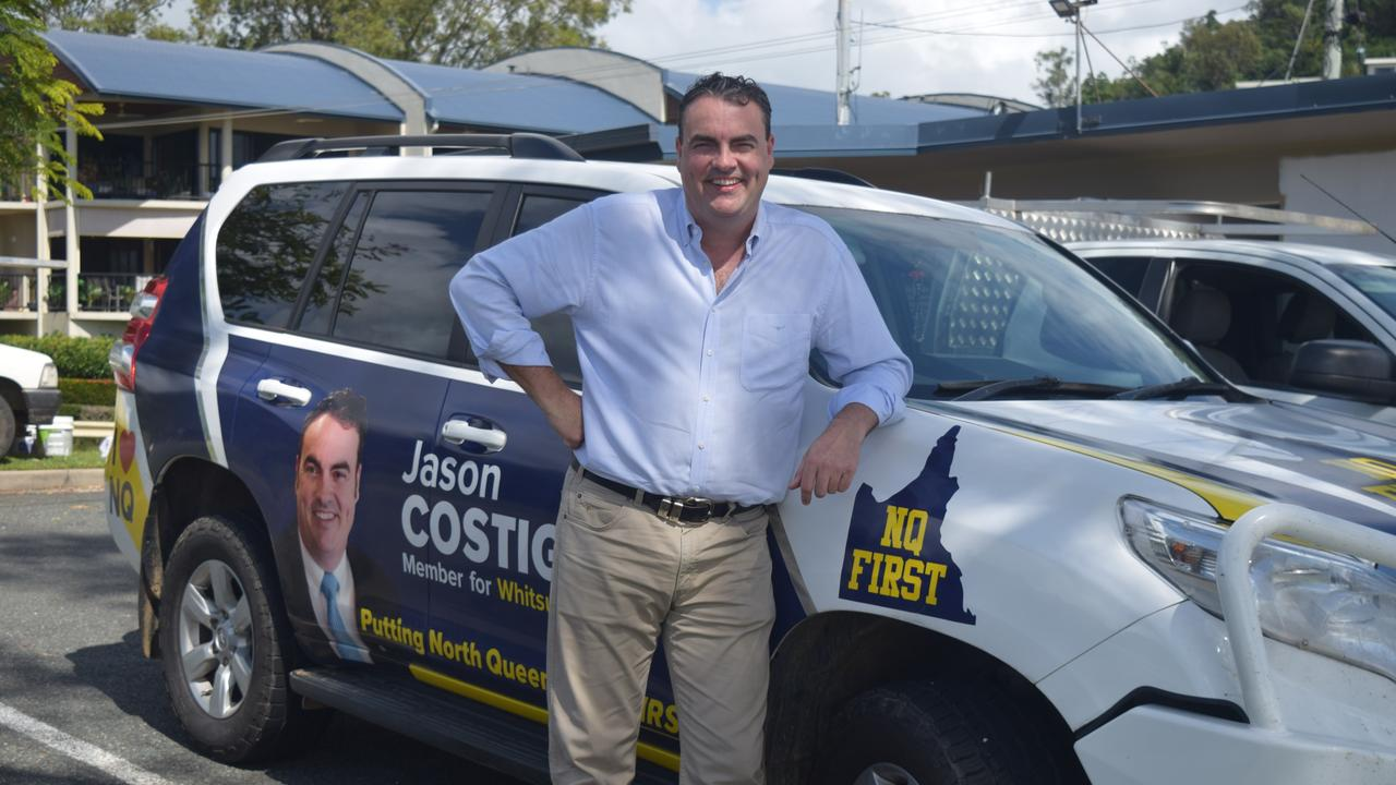 Whitsunday MP Jason Costigan has made several commitments to Proserpine in the lead up to the October election.