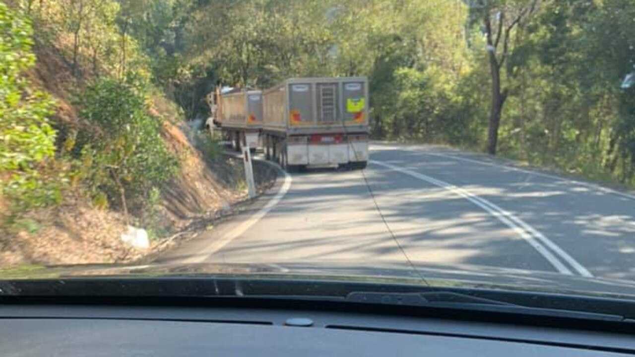 Locals are concerned about the number of quarry truck movements on their roads.