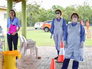 Thousands tested for COVID in Wide Bay in a week