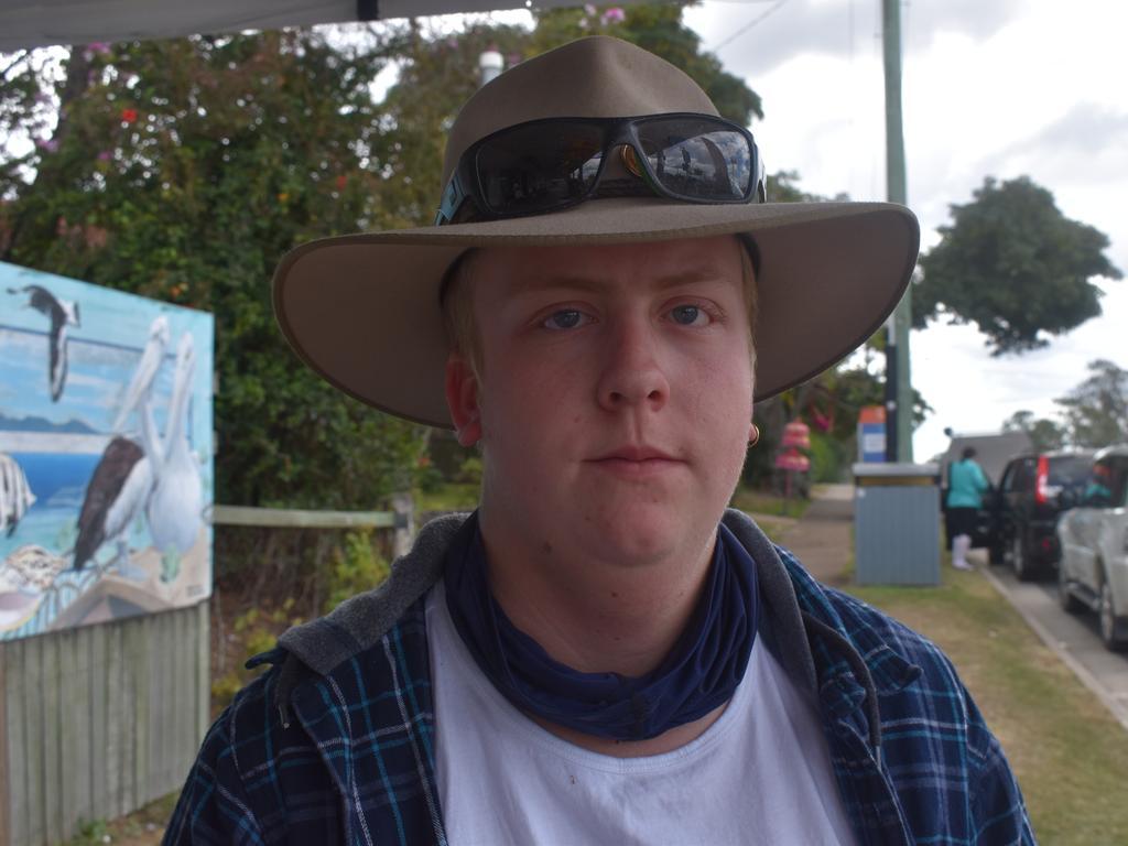 TIARO BYPASS: Tiaro resident Chase Baxter. Photo: Stuart Fast