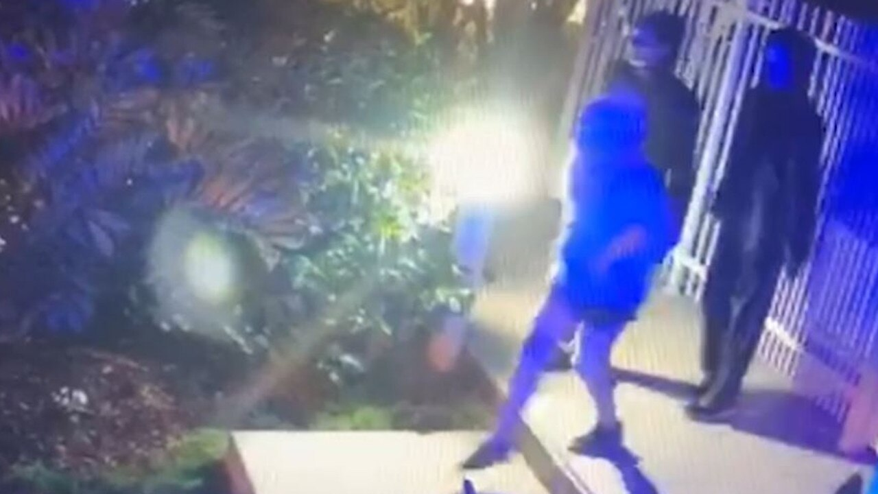 A screenshot from a video released by Queensland Police in the search for missing Gold Coast girl Laine-Ella Hyland. It's the last confirmed sighting of the 11-year-old. An amber alert remains active. Picture: Queensland Police