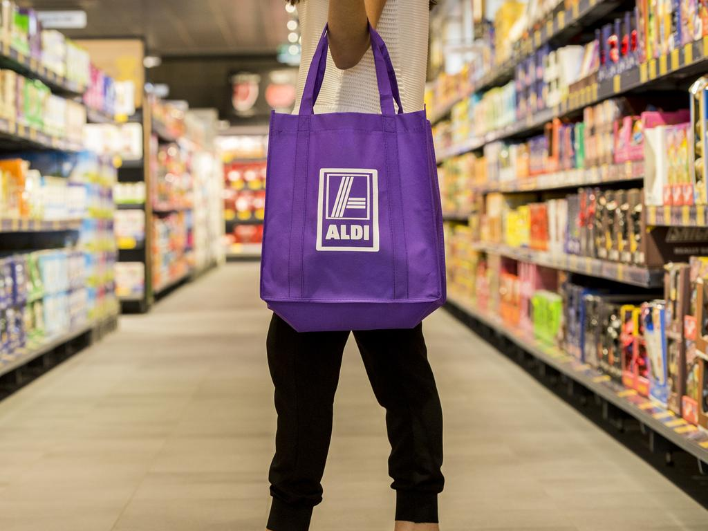 If you don't want to use a large trolley, you have to collect items in a shopping bag, which can get stressful at the checkout. Picture: Supplied