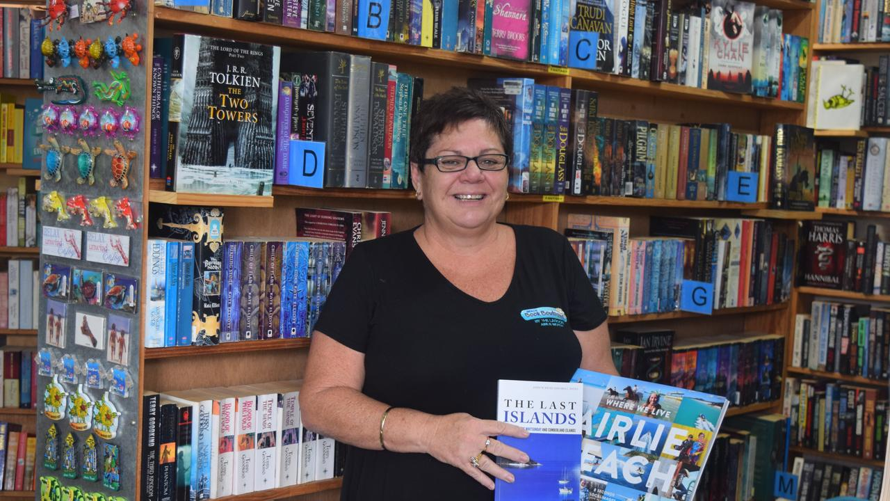 Beach Book Boutique owner Belinda Harris is offering a free delivery service of books for those vulnerable or self-isolating because of coronavirus containment measures.