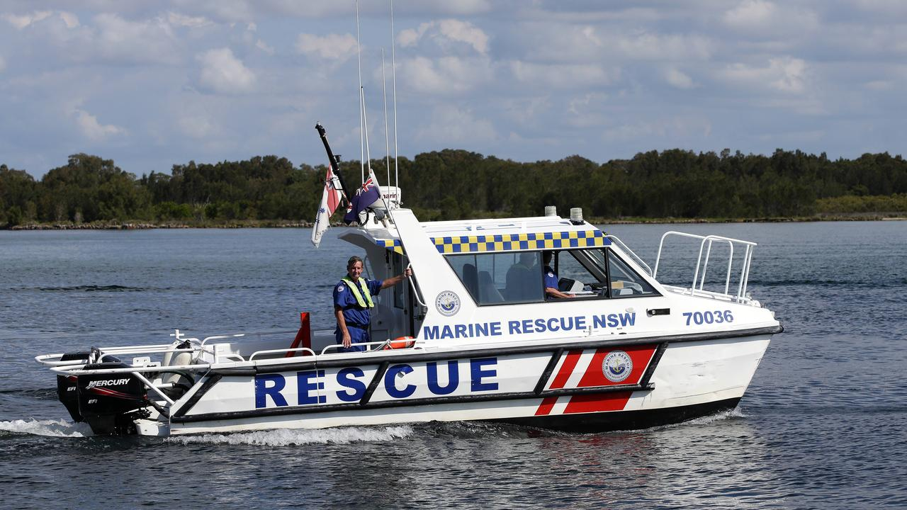 Marine Rescue NSW is urging everyone to stay safe on the water this Father's Day. Photo: Peter Lorimer