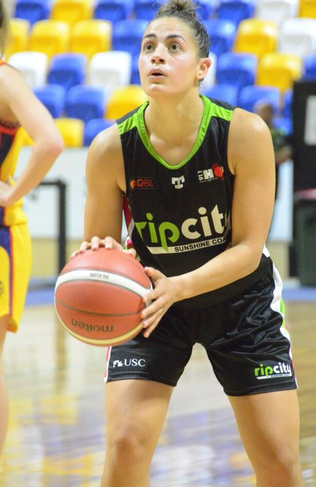 USC Rip City and Australian Opals guard Maddi Rocci. Picture: Fan Fair