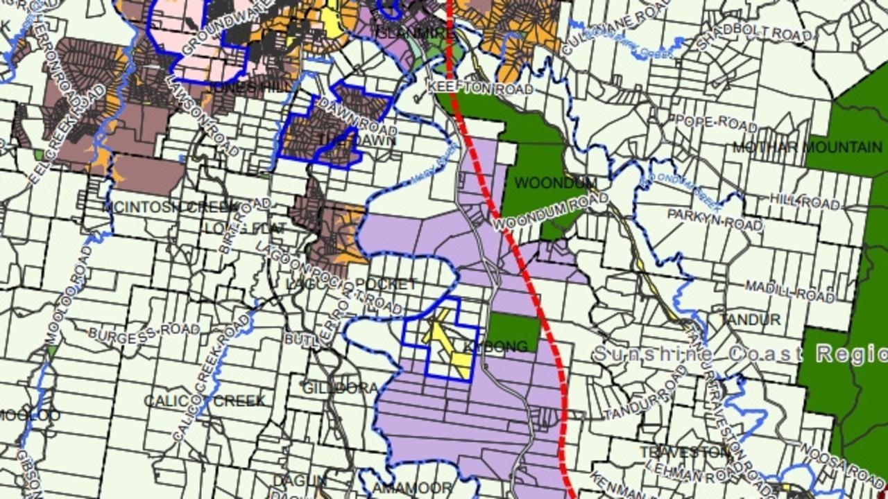 Gympie planning scheme, Kybong