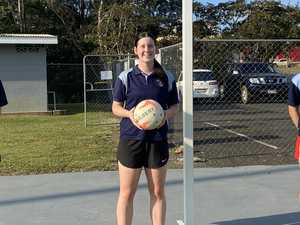 Gympie netballers compete in QLD titles at Nissan Arena
