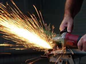 WHAT A GRIND: Tools taken in Bay break-in