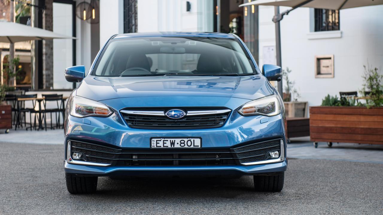 The model year 2020 Subaru Impreza 2.0i-S.