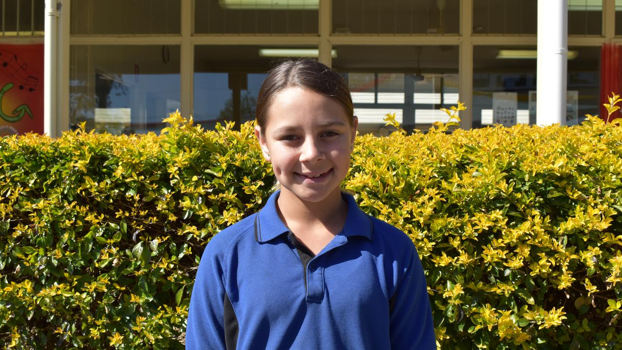 Eidsvold State School student Tameesha Pope. Picture: Sam Turner