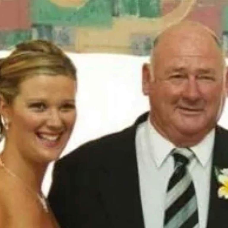 Stacey Mattinson said her dad is her hero.