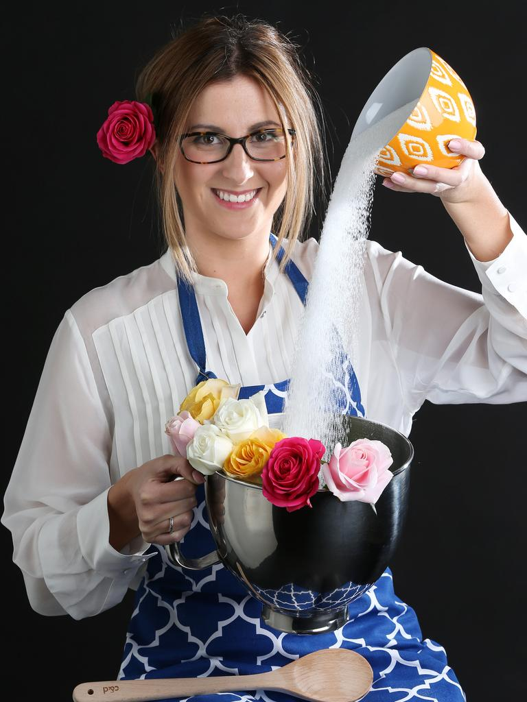 Tastes of Central Geelong Bake off defending champion Irena Srbinovska in 2014. Picture: Mike Dugdale