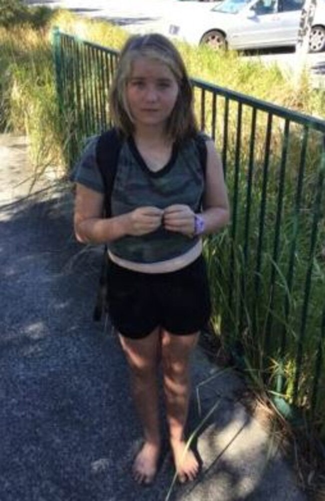 Laine-Ella Hyland went missing from her Main Beach home on August 18. Picture: supplied