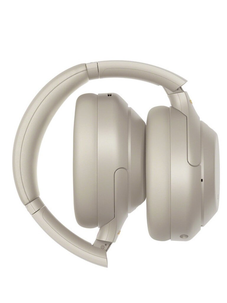 The Sony WH-1000XM4 headphones have touch gesture controls on the ear cup. Picture: Supplied.
