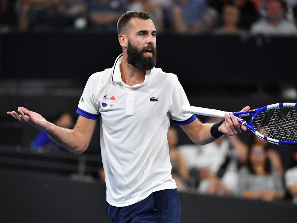 Benoit Paire was a hot topic of discussion despite not playing.