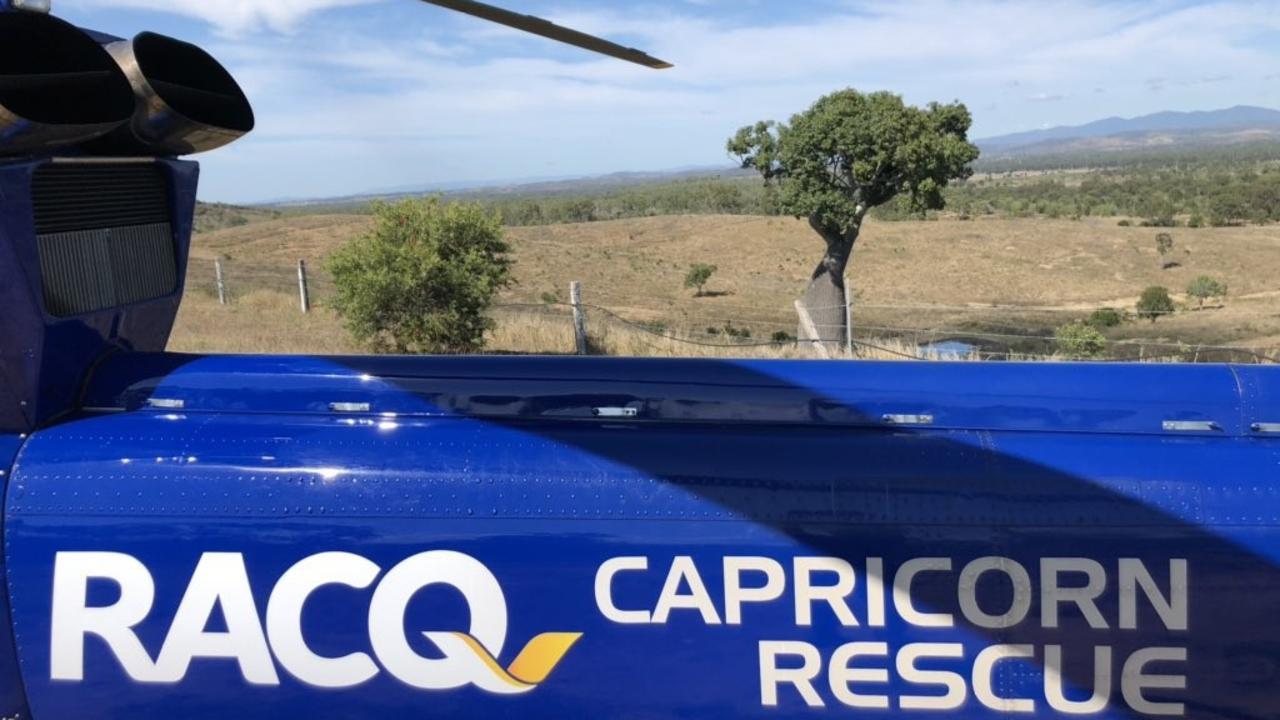 MORNING RESCUE: RACQ Rescue 300 has returned to Rockhampton Hospital with an elderly male patient suffering injuries from a fall.