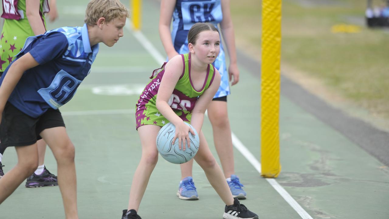 Grafton Netball Association junior action at Westward Park on Saturday, September 5, 2020. Photo: Mitchell Keenan