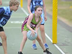 60+ PHOTOS: Grafton junior netballers go all in