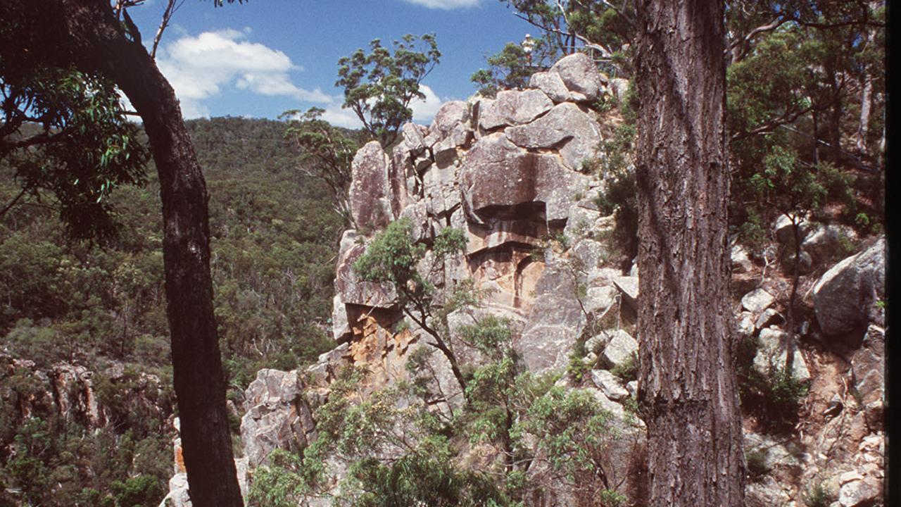 Crows Nest National Park Koonin Lookout.