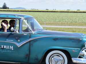 GALLERY: Classic cars take a spin on Mackay Ring Road