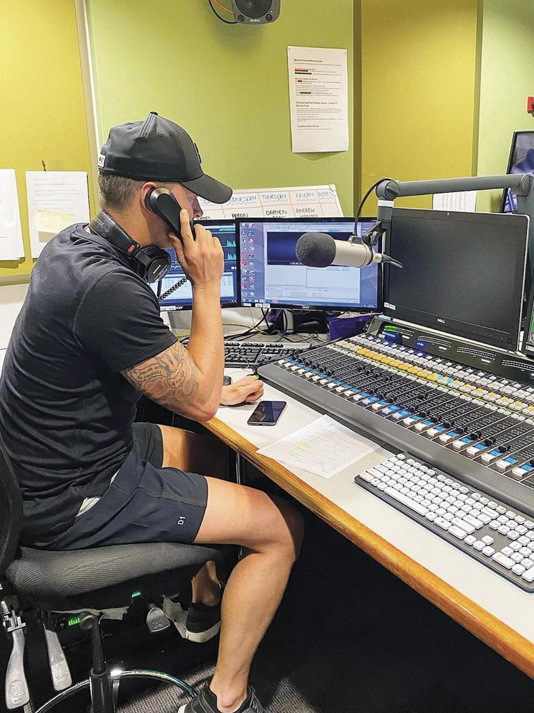 """You can't hide who you are doing live TV or radio. You can't fake that."" (Picture: Supplied)"