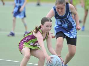 Grafton Netball Association junior action