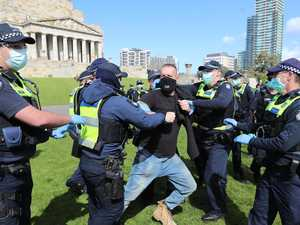 Scores arrested at Melbourne's 'Freedom Day' protests