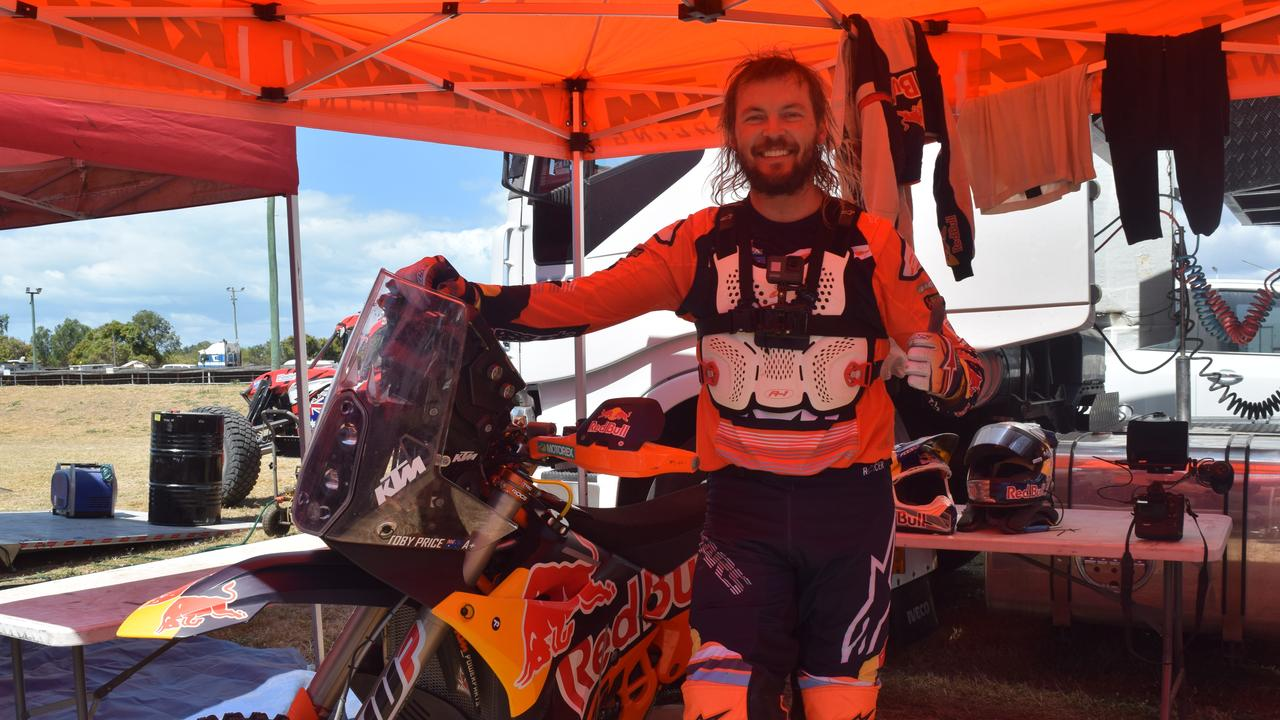 Toby Price raced at the Don River Dash and looked forward to retuning to the 2021 event.