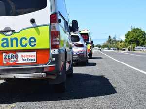 Four injured in Ooralea multi-car crash