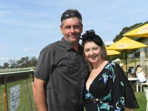 Trudie and Craig Mellon at the Lockyer Valley Turf