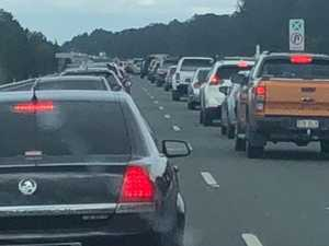 Notorious Sunday traffic causes 'mayhem' on Bruce Hwy