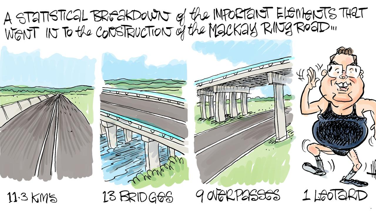 Harry Bruce's take on the new Mackay Ring Road.