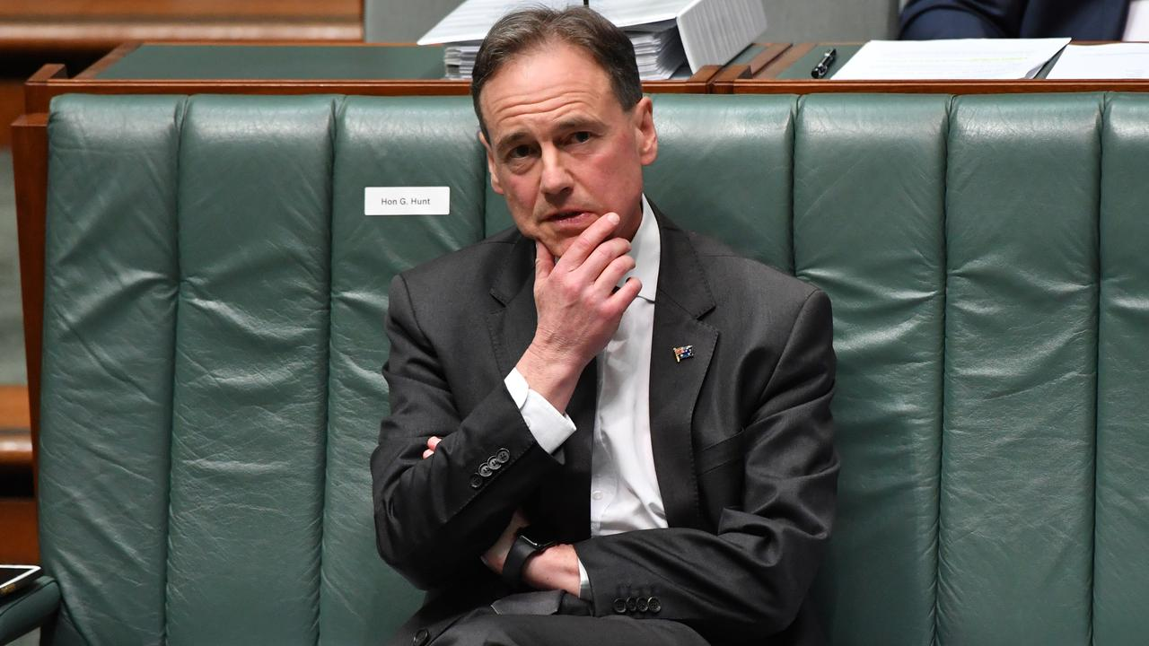 Health Minister Greg Hunt says the Medicare will not go up to pay for aged care. Picture: Sam Mooy/Getty Images