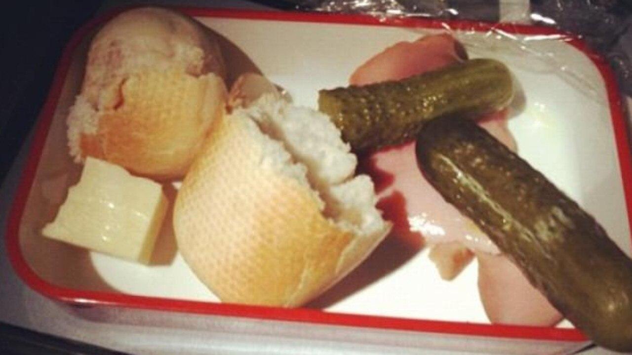 This was presented as a 'Mediterranean dish'.