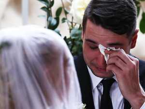 'Tears everywhere': Terminally ill woman's dream wedding