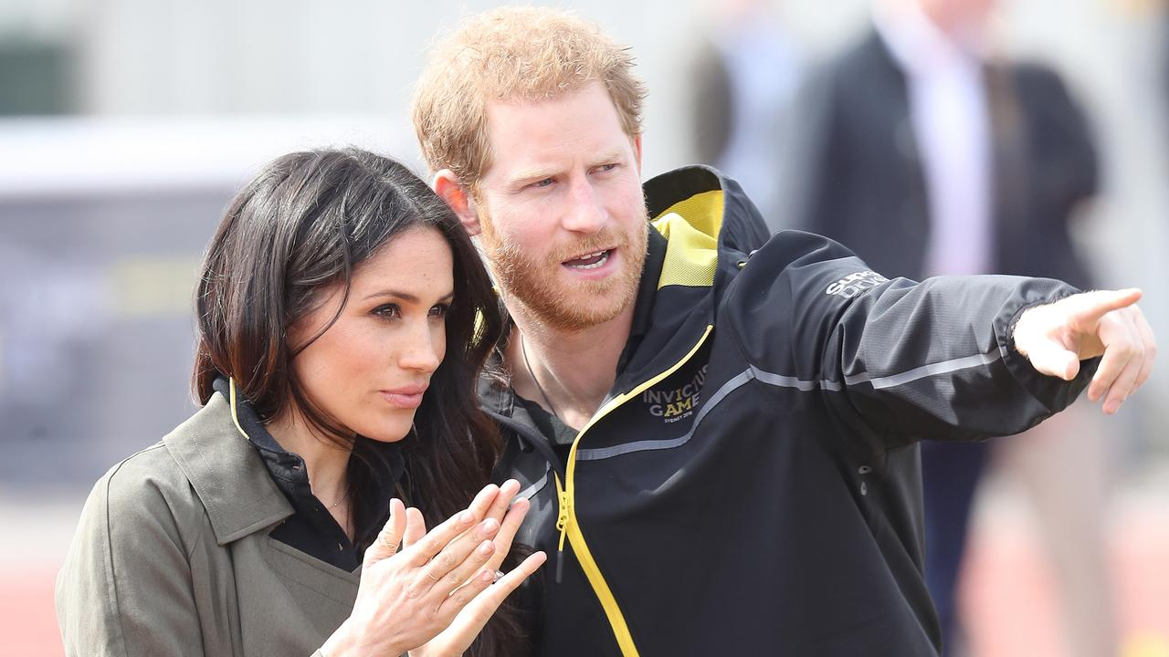 Harry and Meghan attend trials for the last Invictus Games. Picture: Chris Jackson/Getty Images