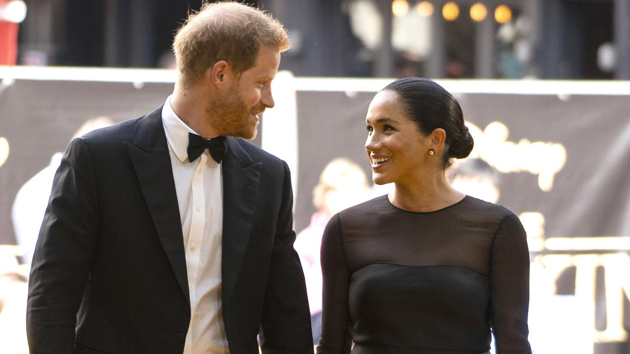 The new multimillion-dollar Netflix deal is a big reason to celebrate for the Sussexes who are eager to crack Hollywood. Picture: Niklas Halle'n-WPA Pool/Getty Images