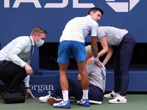 DJOKOVIC'S DISGRACE: Hits lineswoman, kicked out of US Open