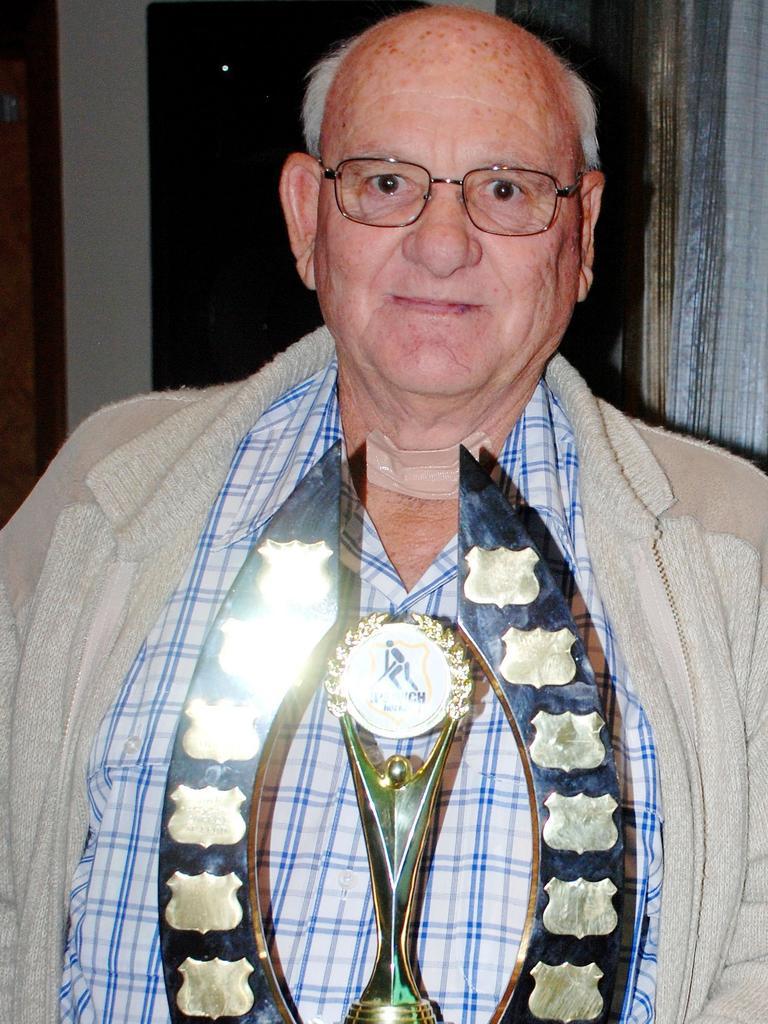 Ipswich Hockey president Robert McLeod.