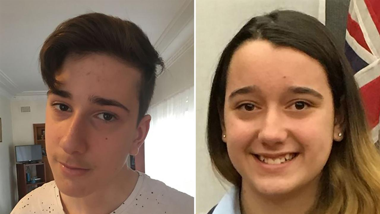 Jack, 15, and Jennifer, 13 were shot dead by their father John in July 2018. Picture: AAP Image/Supplied
