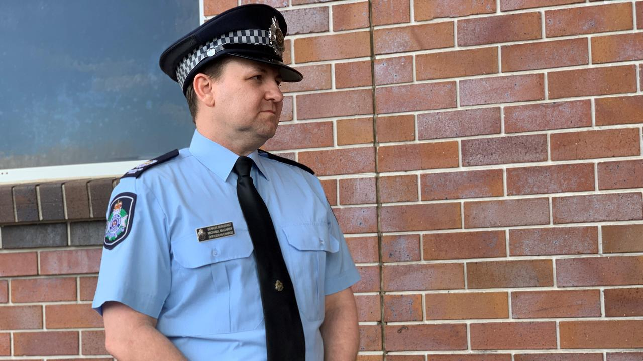 Officer in Charge of Bundaberg Police Senior Sergeant Michael McGarry.
