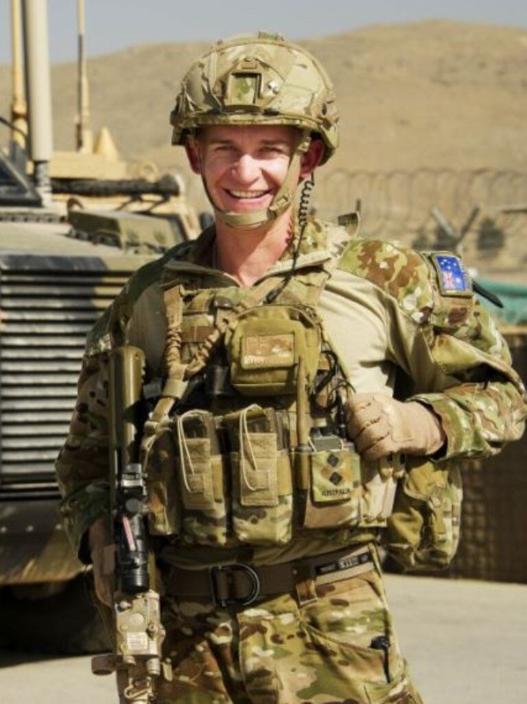 Captain William Michael Howieson, 29, pictured on an earlier deployment in Kabul, Afghanistan. Picture: ADF/Supplied.
